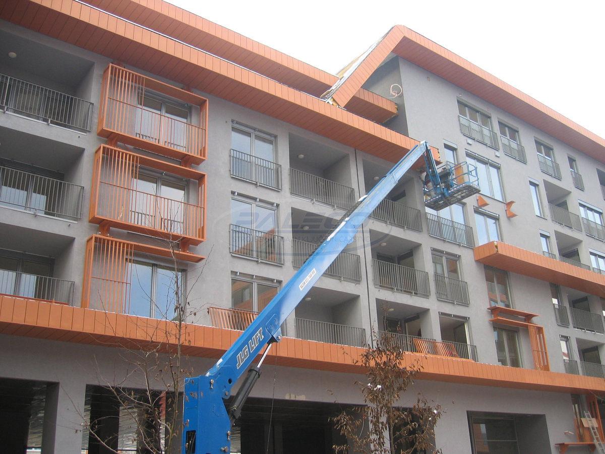 Izdelava kovinskih balkonov