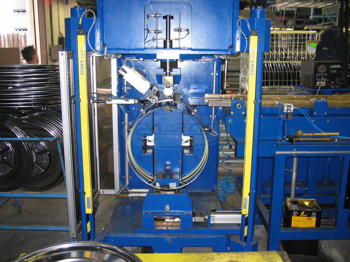 Linija za izdelavo bobna pralnega stroja